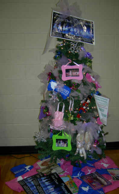 """The Nutcracker Tree"" donated by Sawnee Ballet Theatre"