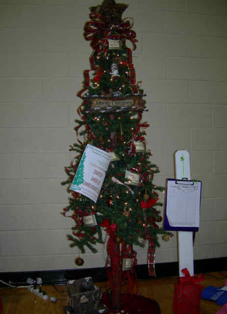 """Conservation Tree"" doanted by Sharon Lee, Sawnee Woman's Club"