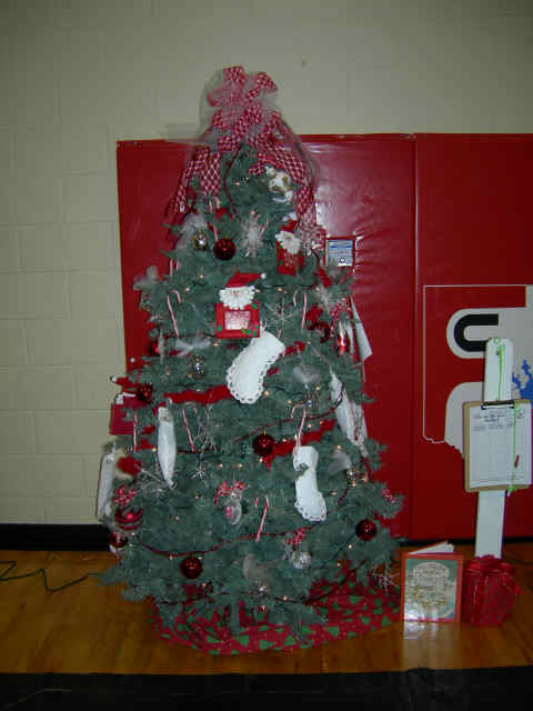 """Twas the Night Before Christmas Tree"" donated by Sawnee Woman's Club"